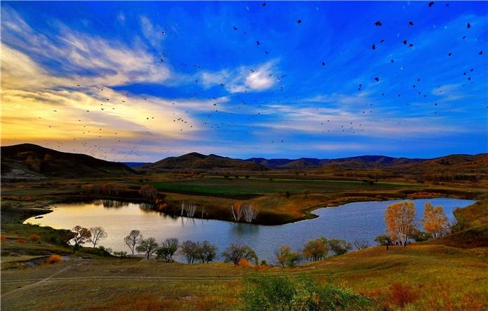 巴彦淖尔丨初春,来赴这场湖光山色之约