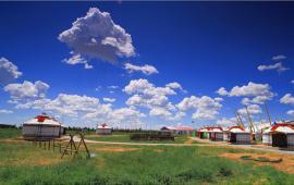成吉思汗陵旅游景区--天骄浩特