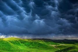 一下雨,内蒙就成了塞北