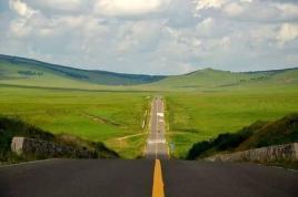 内蒙古的公路原来这么浪漫?